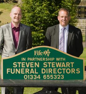Steven Stewart Funeral Director, Cupar